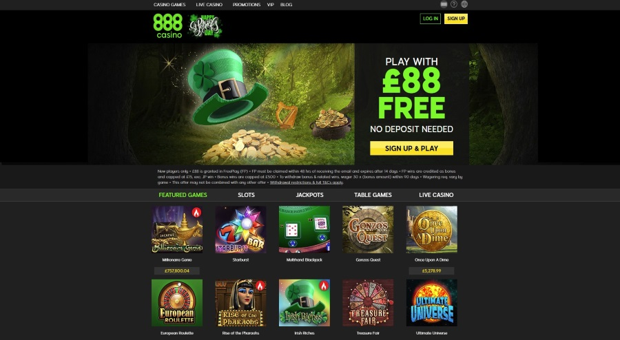 888 Casino - Enjoy the Real Online Casino Experience